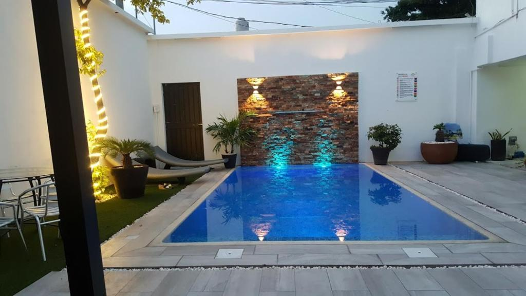 The swimming pool at or near Hotel Puerto Campeche