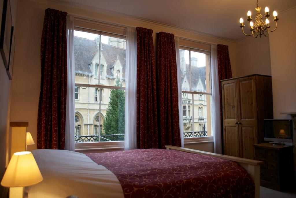 Posteľ alebo postele v izbe v ubytovaní The Buttery