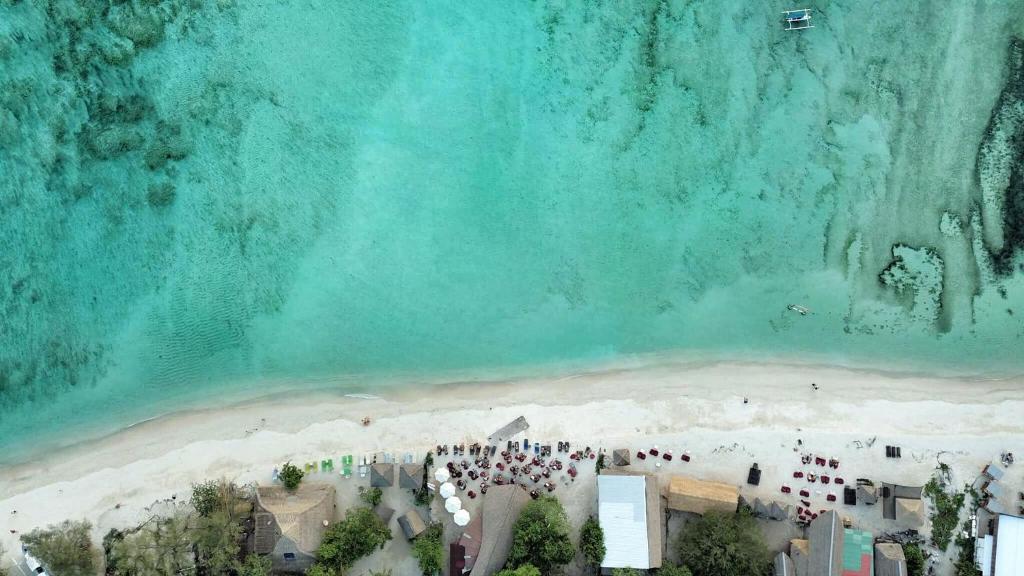 Vista aèria de Mowies on the Beach