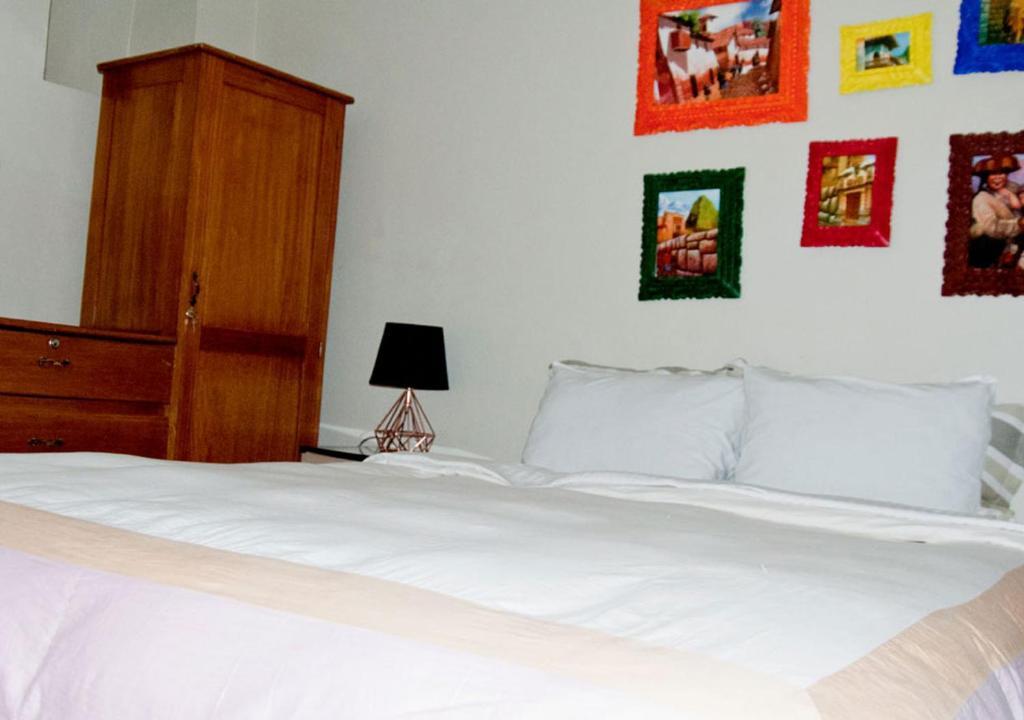 Cama o camas de una habitación en Casa Bitoque