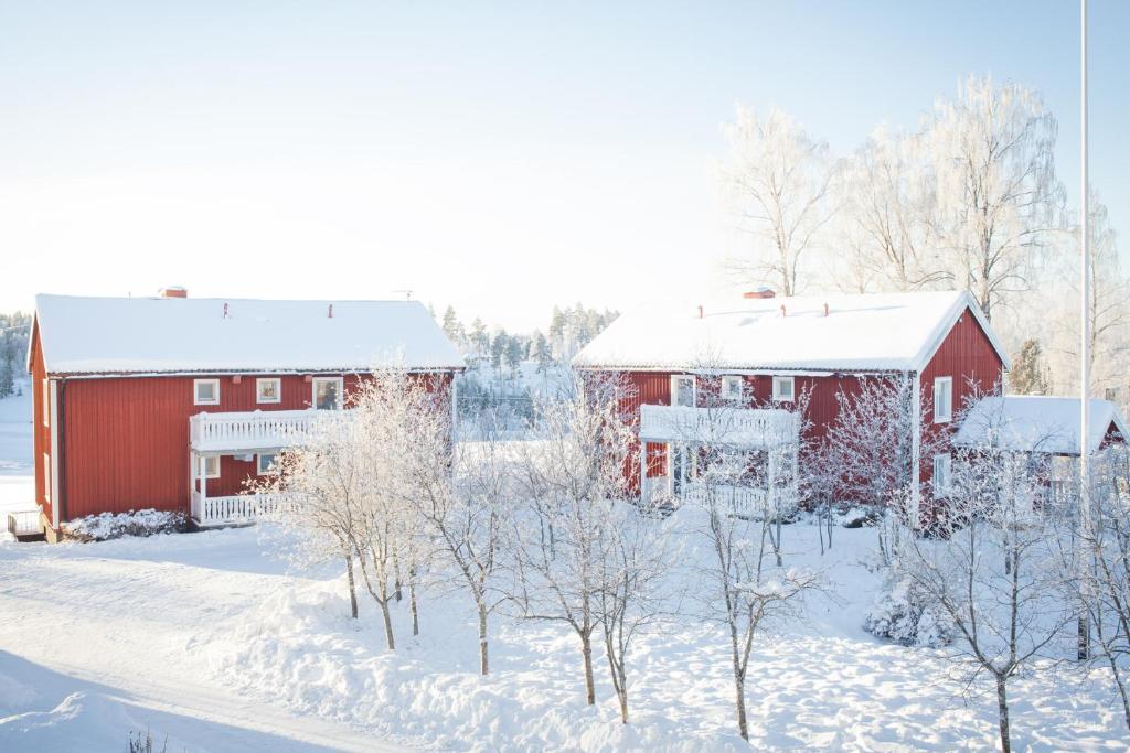 Helsingegården during the winter