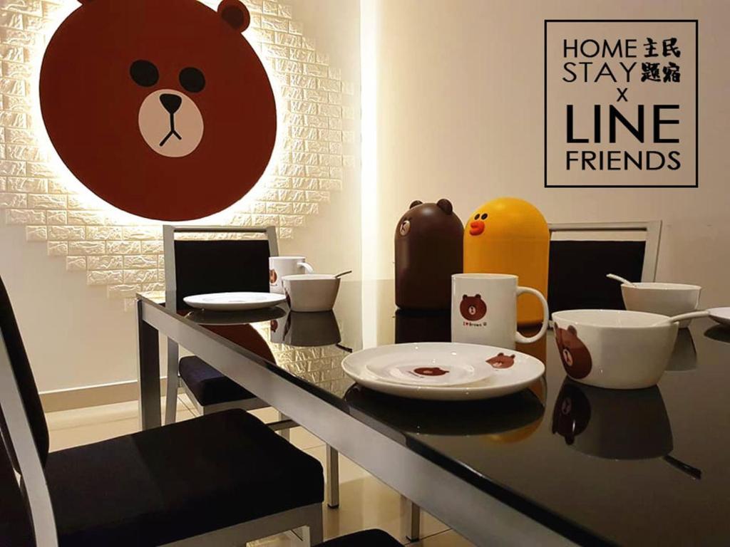 Line Friends Homestay Johor Bahru Malaysia Booking Com
