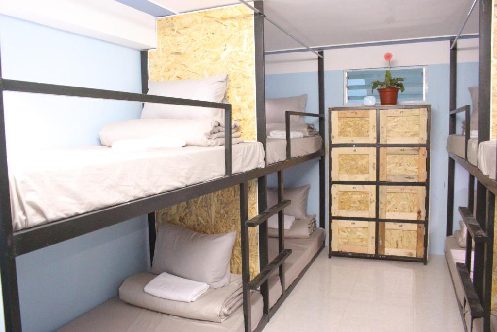 Phòng ngủ Tập thể 8 Giường cho cả Nam và Nữ