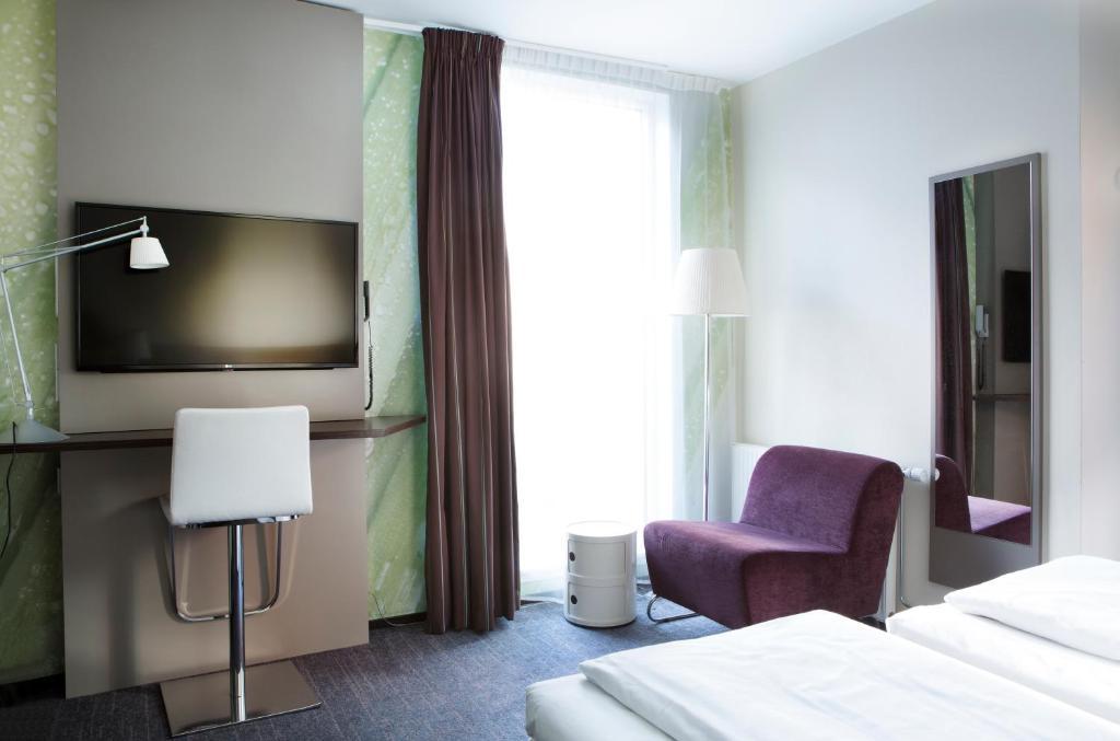 تلفاز و/أو أجهزة ترفيهية في Comfort Hotel Trondheim