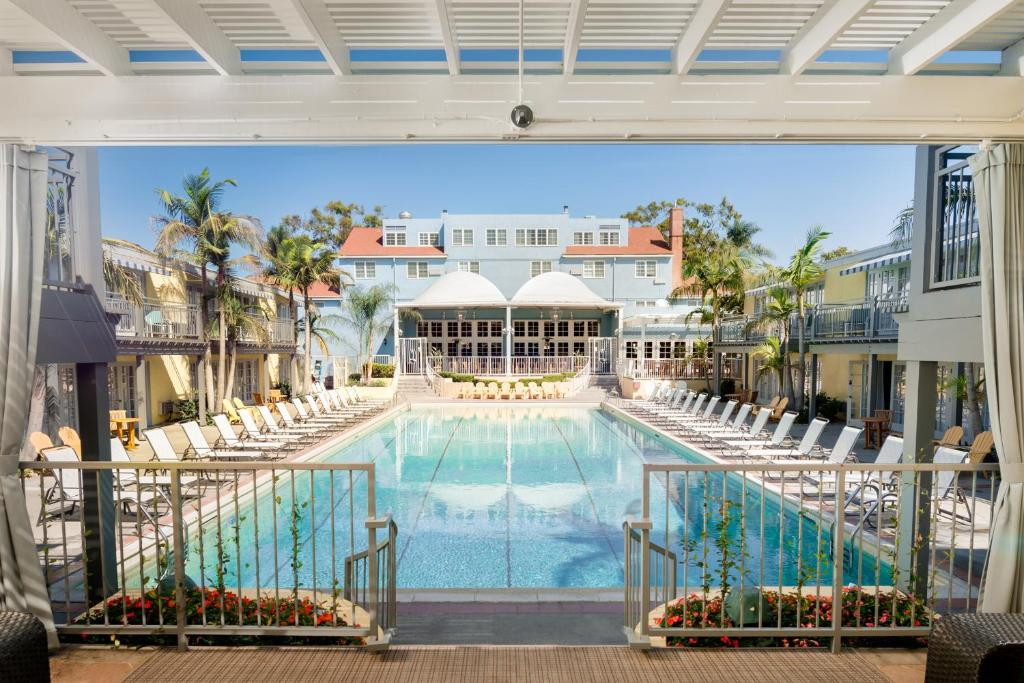 A view of the pool at The Lafayette Hotel, Swim Club & Bungalows or nearby