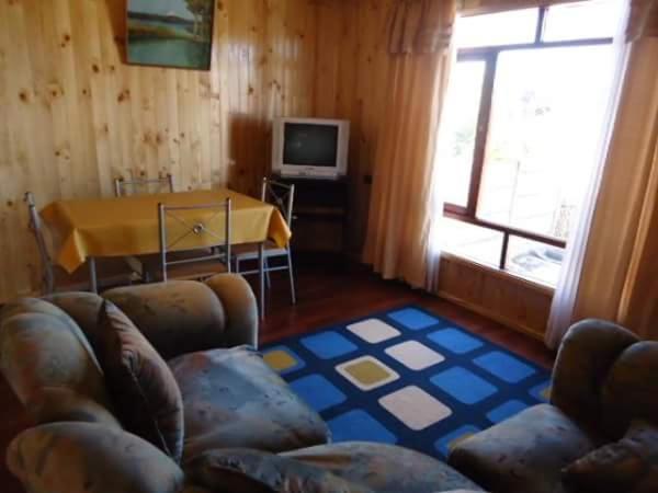 Zona de estar de Hospedaje y Cabañas Puerto Montt