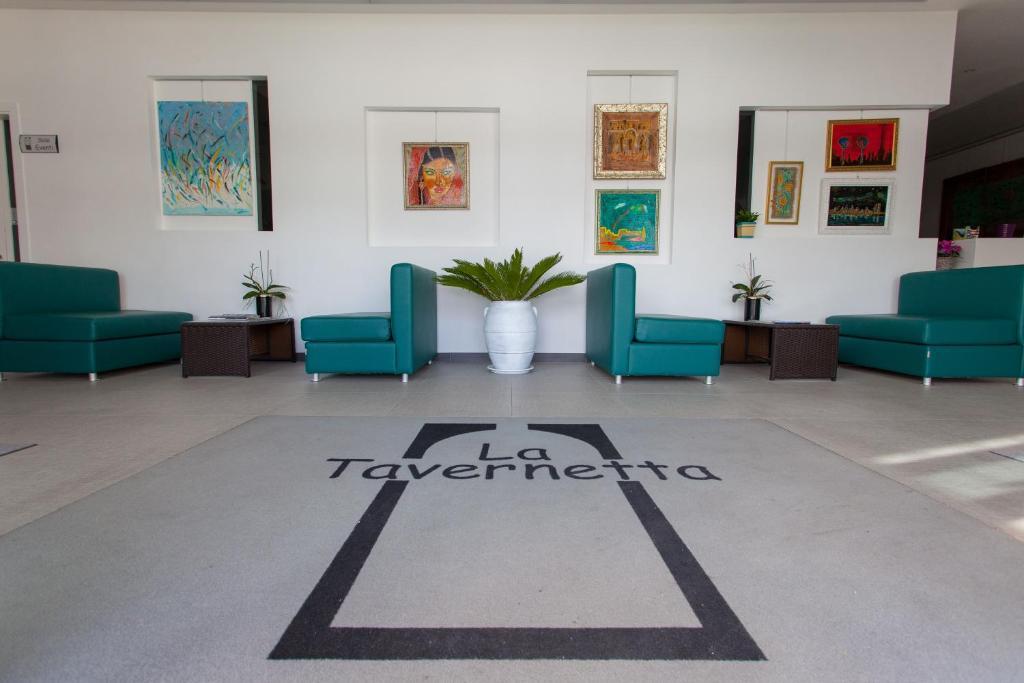 Hall o reception di Hotel La Tavernetta