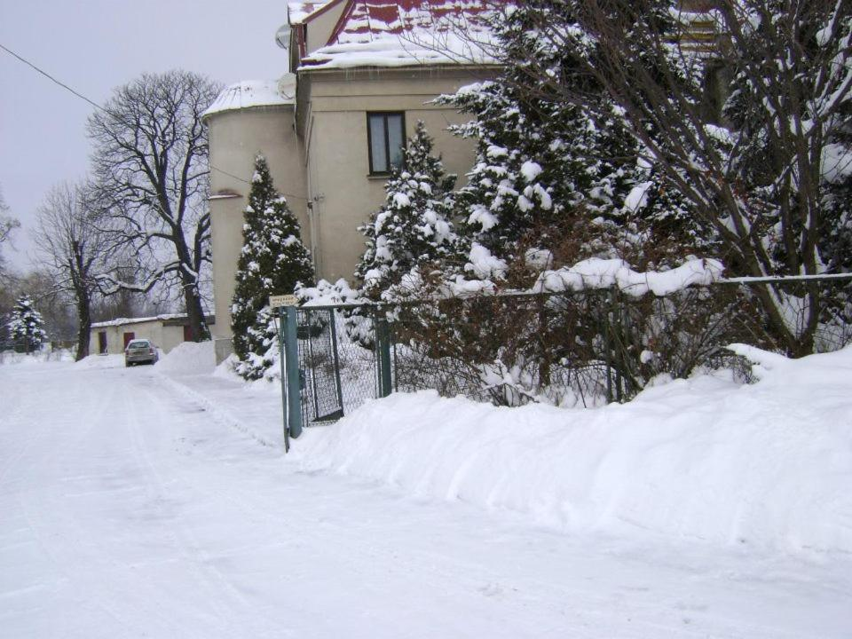 Obiekt Hotel Kamieniec zimą