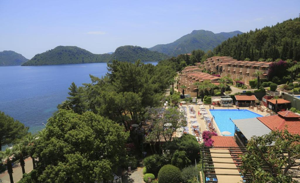 A view of the pool at Labranda Mares Marmaris Hotel or nearby