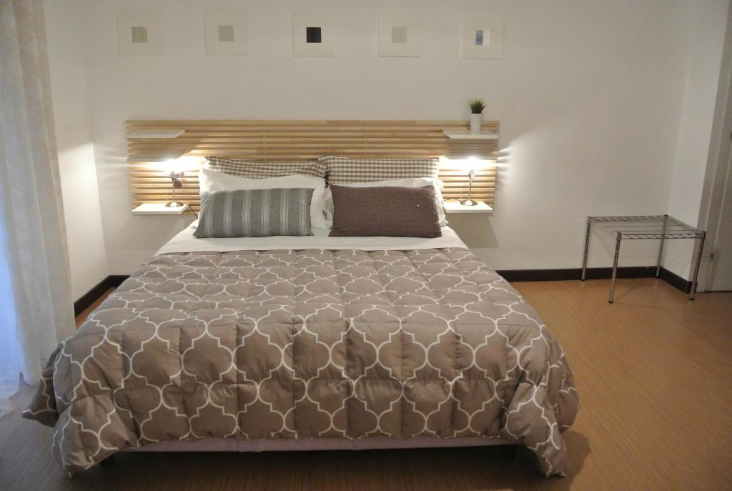 A bed or beds in a room at B&B Via Dei Templi
