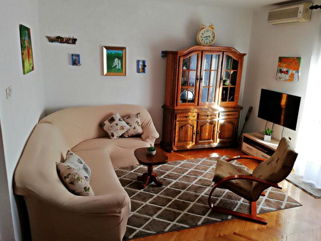 Posezení v ubytování Apartmani Anda