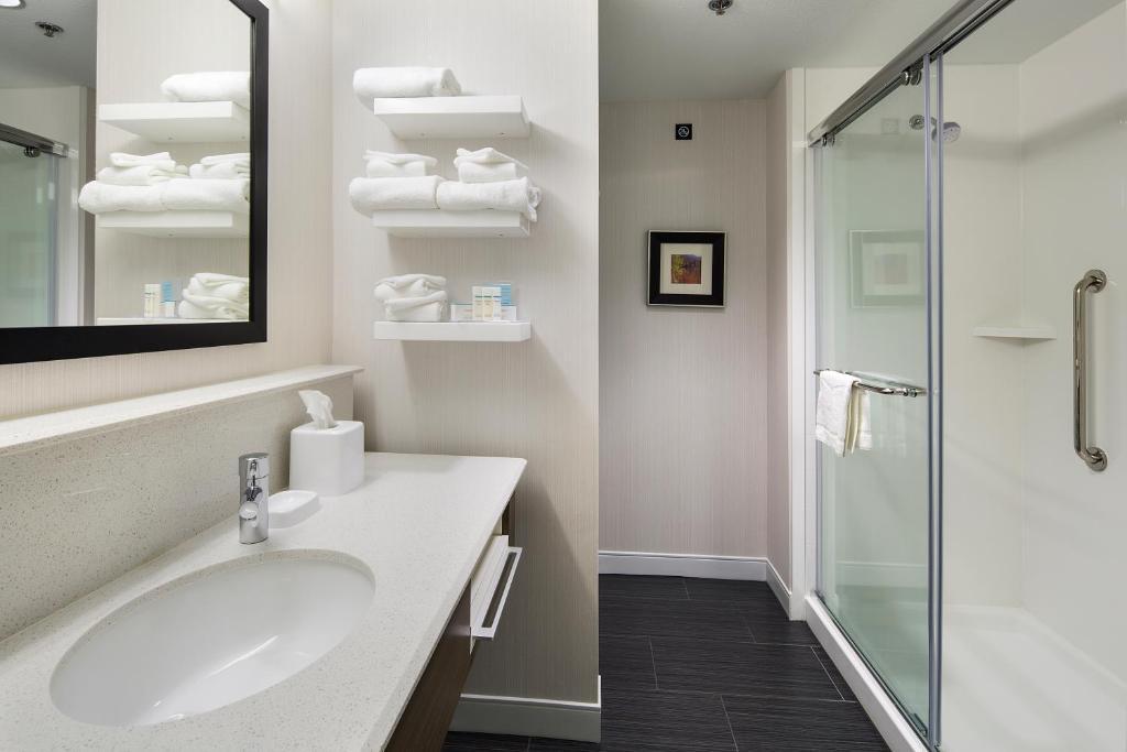 Ein Badezimmer in der Unterkunft Hampton Inn & Suites Page - Lake Powell