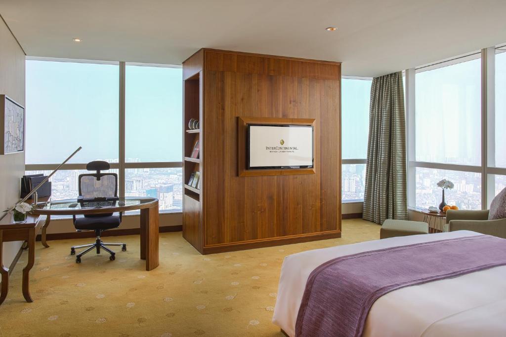 Suite có Giường cỡ King ở Góc
