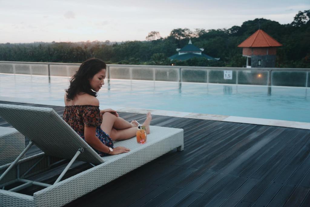 Piscina di The Evitel Resort Ubud o nelle vicinanze