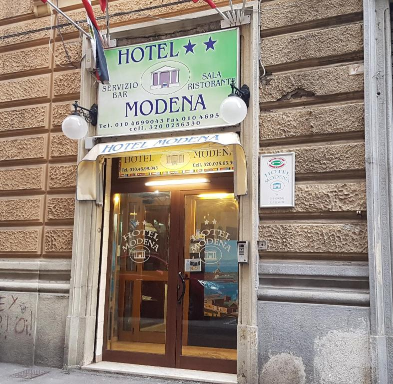 Hotel Modena Genoa Italy Booking Com
