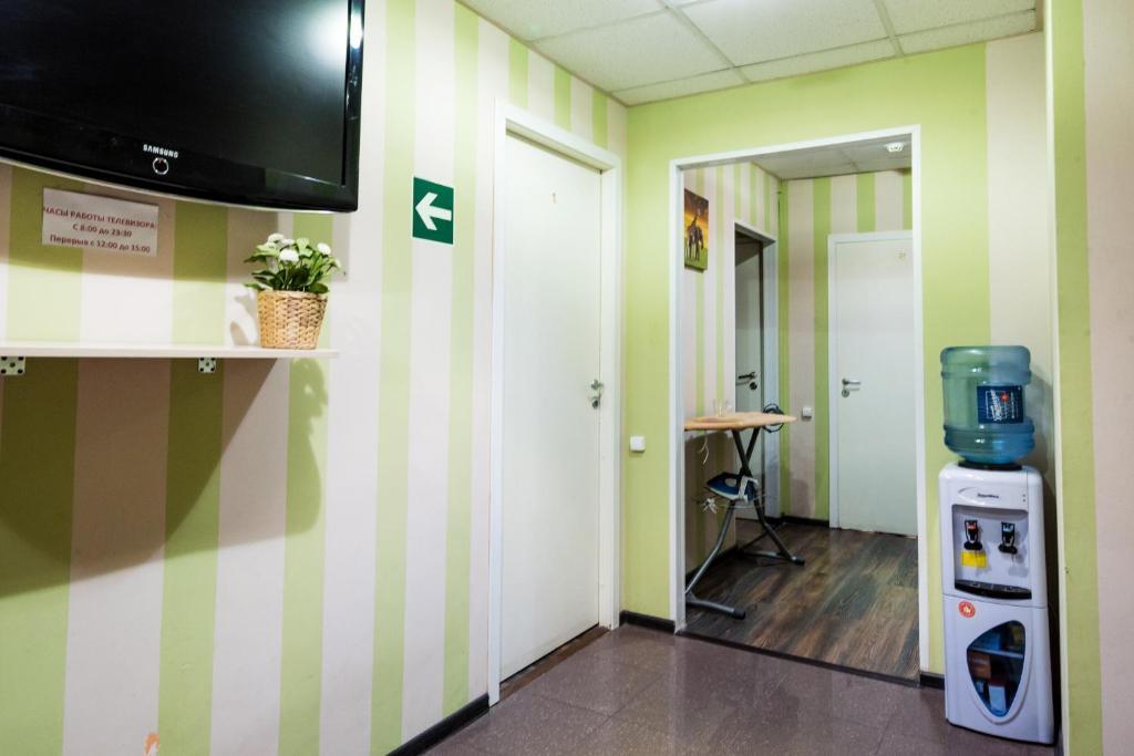 Телевизор и/или развлекательный центр в Хостел Радужный