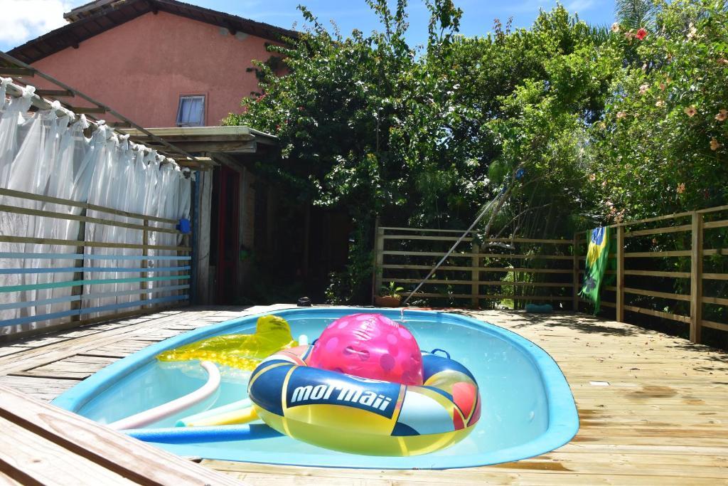 A piscina localizada em Campeche Hostel ou nos arredores