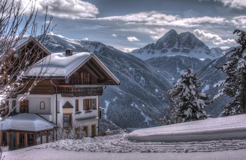 Herolerhof during the winter