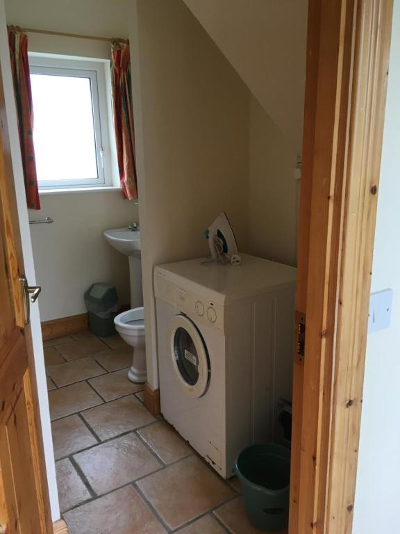 Et badeværelse på Beach Cottage