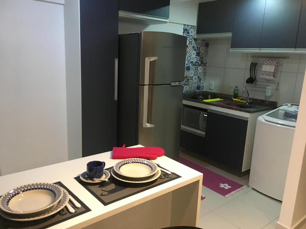 A kitchen or kitchenette at Smart Residence Flat