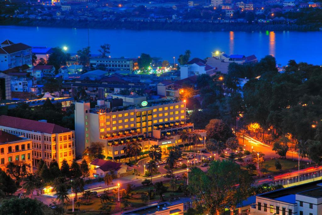 A bird's-eye view of Sunway Hotel Phnom Penh