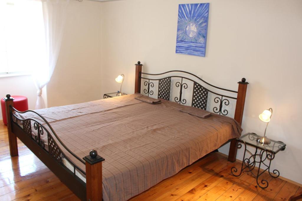 Postelja oz. postelje v sobi nastanitve Haus 8 am Meer