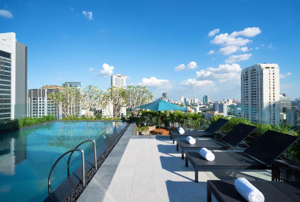 The swimming pool at or near Hyatt Place Bangkok Sukhumvit