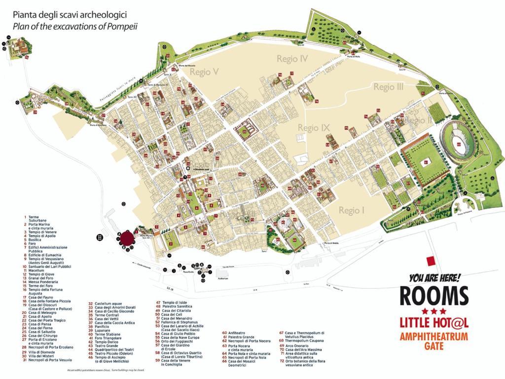 Amphitheatrum Gate Pompeje Aktualne Ceny Na Rok 2020