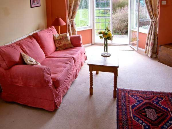 A seating area at The Cottage, Whitchurch