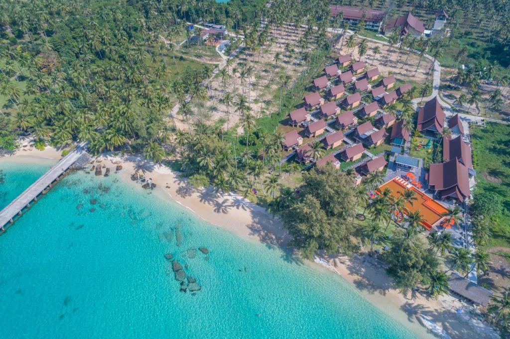 Koh Kood Paradise Beach с высоты птичьего полета