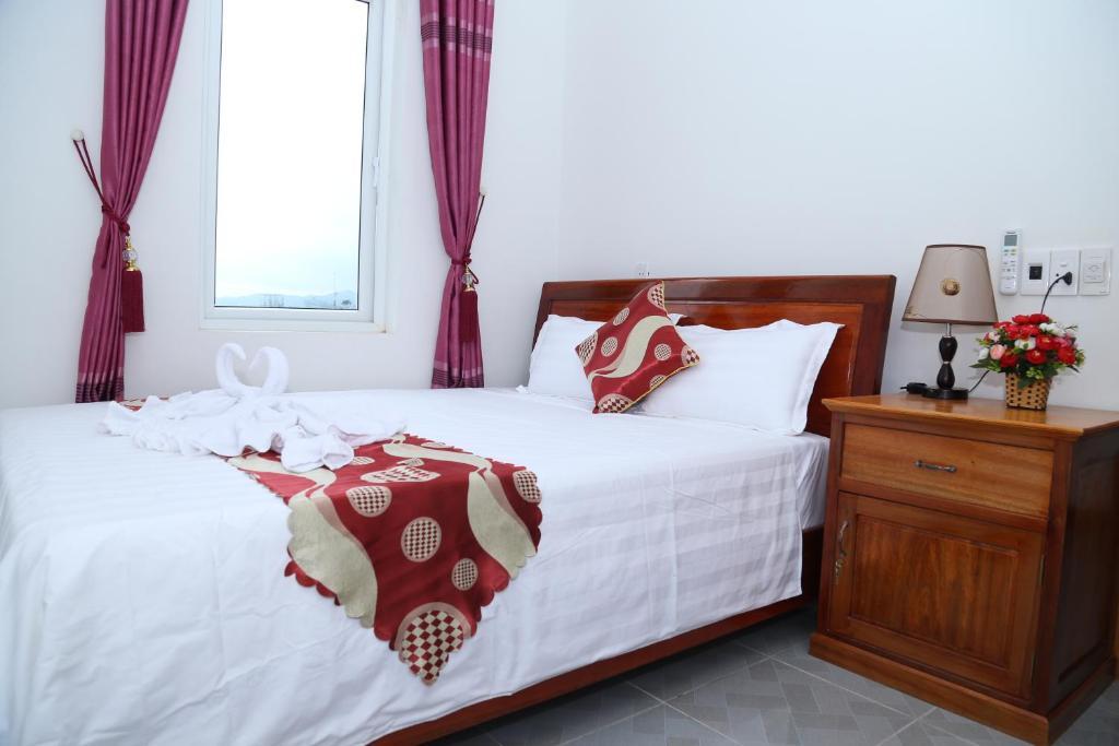 Phòng có Giường cỡ Queen và ban công