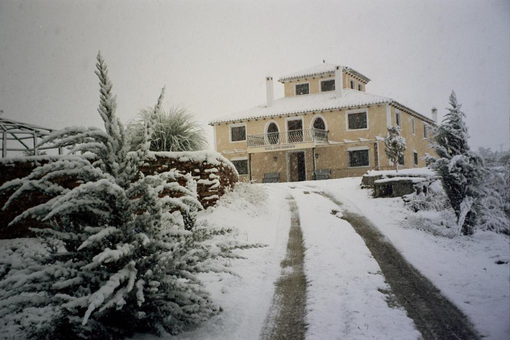 Cortijo Los Nogales during the winter