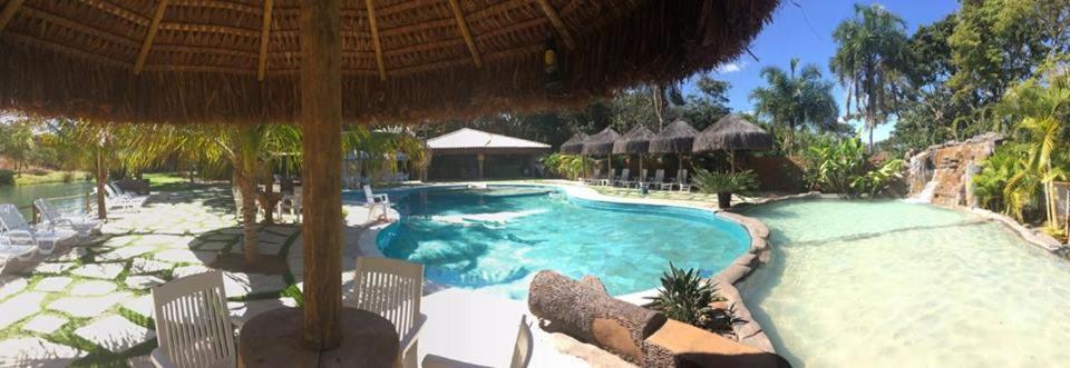 The swimming pool at or close to Villa Triacca Eco Pousada