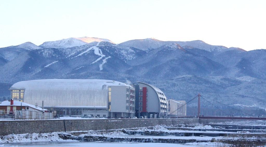 Хотел Арена през зимата