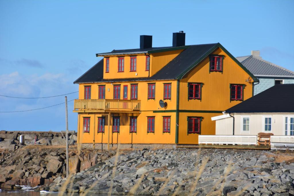 LivLand Lofoten during the winter