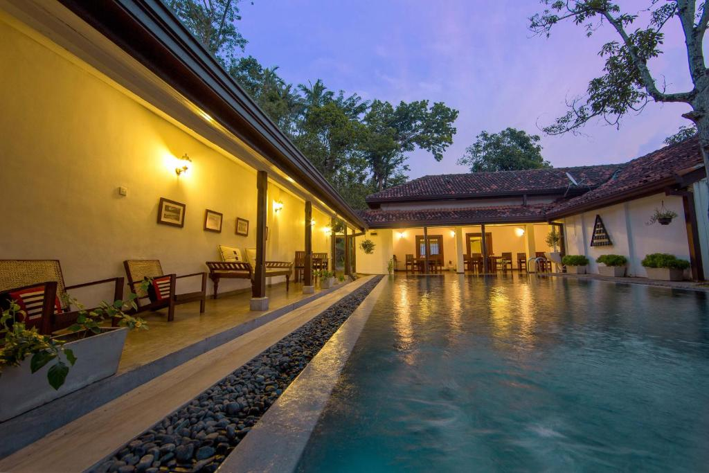 The swimming pool at or close to The Secret Kandy