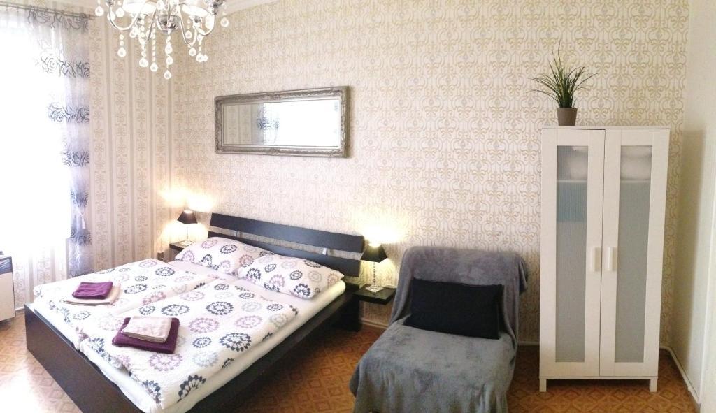 Ένα ή περισσότερα κρεβάτια σε δωμάτιο στο Agnes - Romance in city I