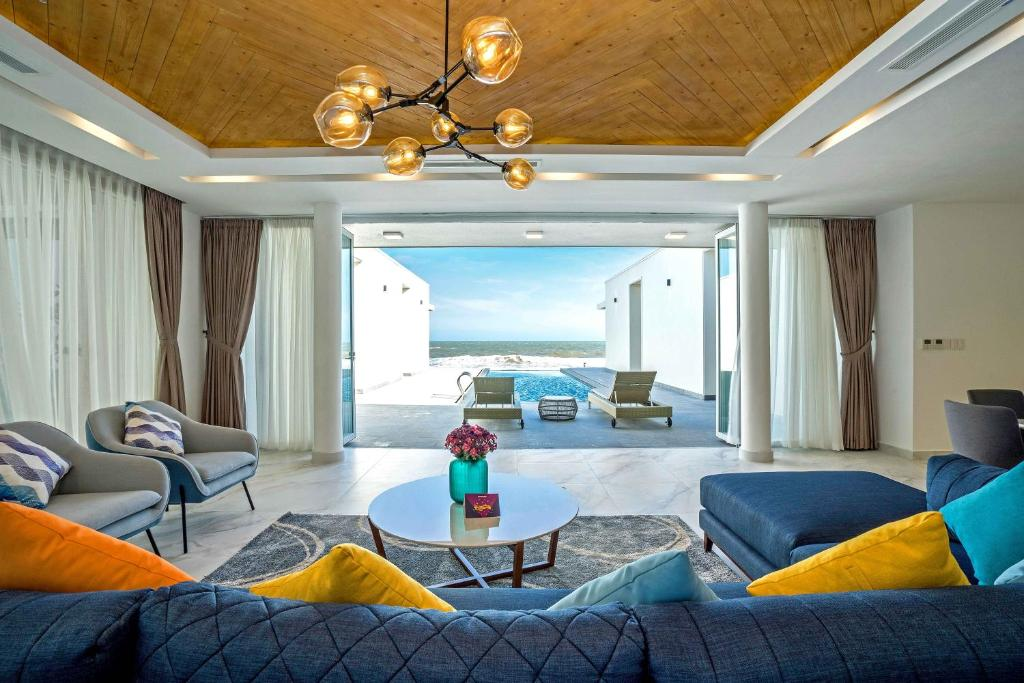 Villa trên Bãi biển