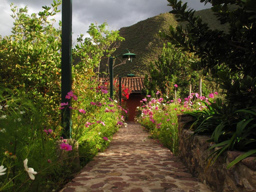 Jardín al aire libre en Casa De Aida