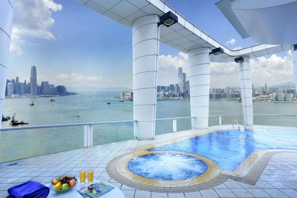 The swimming pool at or near Metropark Hotel Causeway Bay Hong Kong