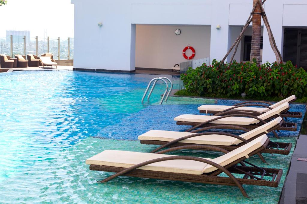 Booking.com: Ferienwohnung Infinity Edge Pool - Rivergate ...