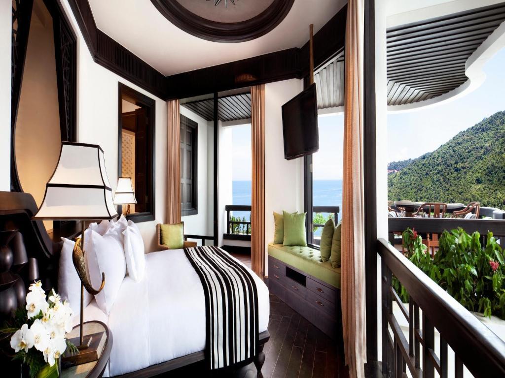 Suite Club Intercontinental 1 Giường ngủ với Sân hiên