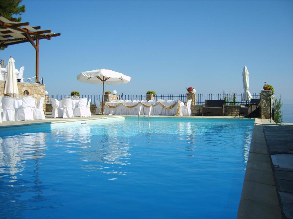 The swimming pool at or close to Yalis Hotel