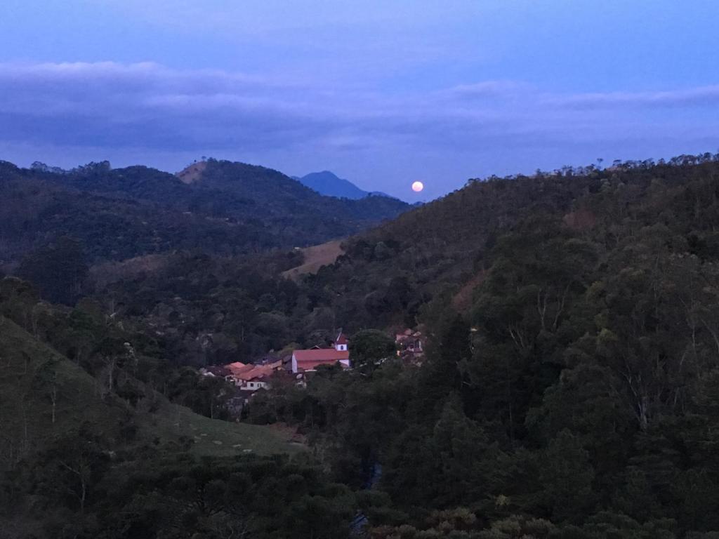 Uma vista aérea de Casa de Mauá