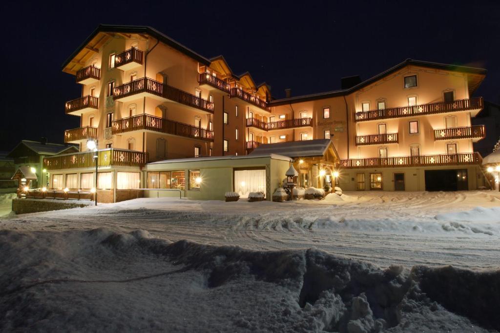 Hotel Gruppo Brenta durante l'inverno