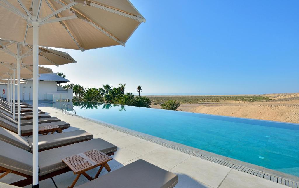 The swimming pool at or near Sol Beach House at Meliá Fuerteventura - Adults Only