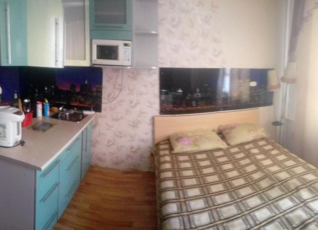 Кухня или мини-кухня в Квартира посуточно