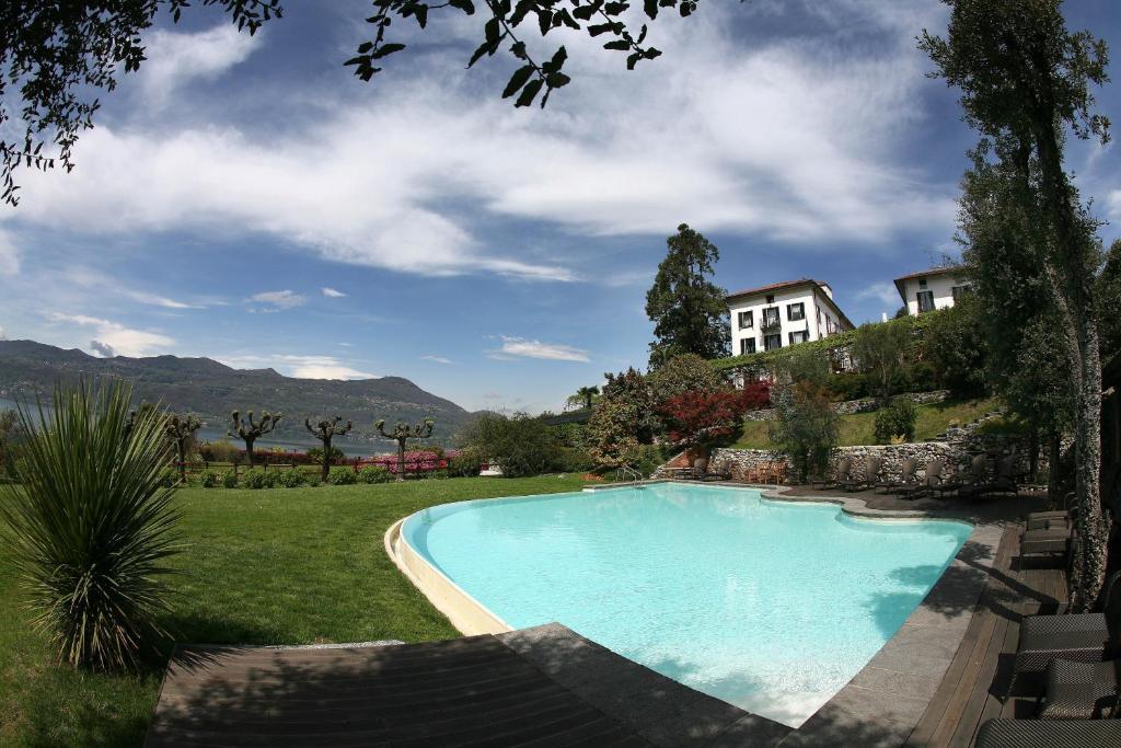 The swimming pool at or near Il Sole Di Ranco