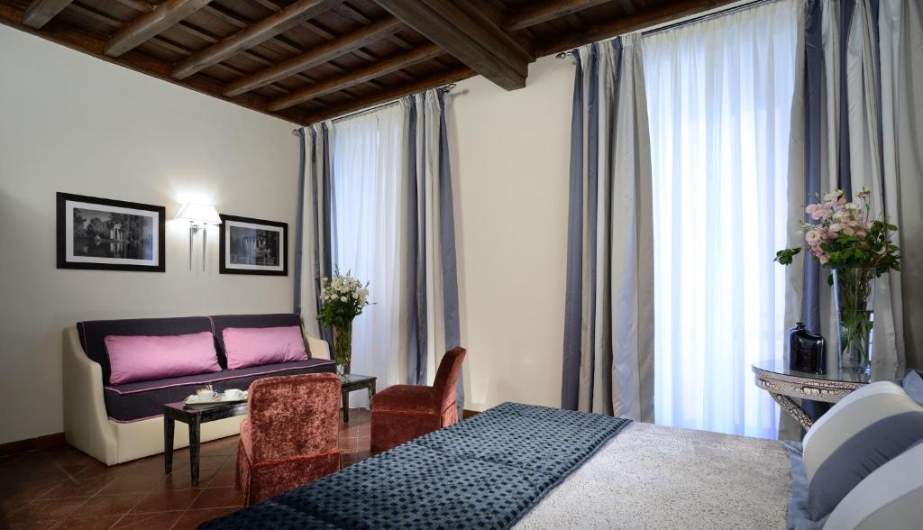 Area soggiorno di Frattina 122