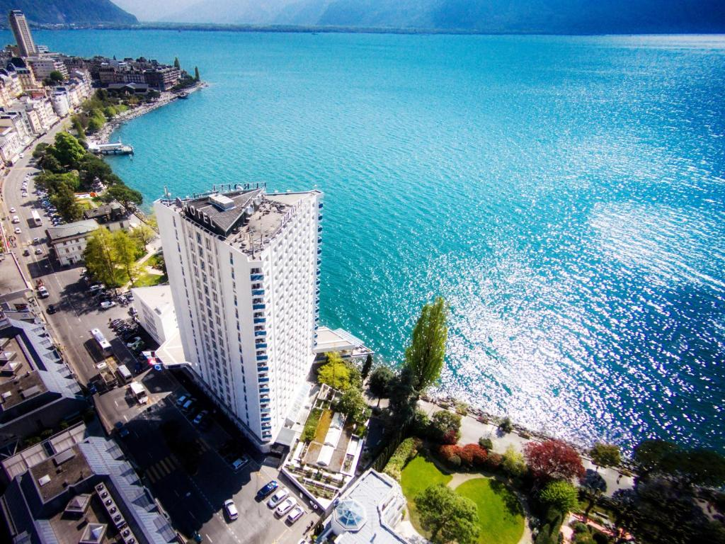 A bird's-eye view of Eurotel Montreux